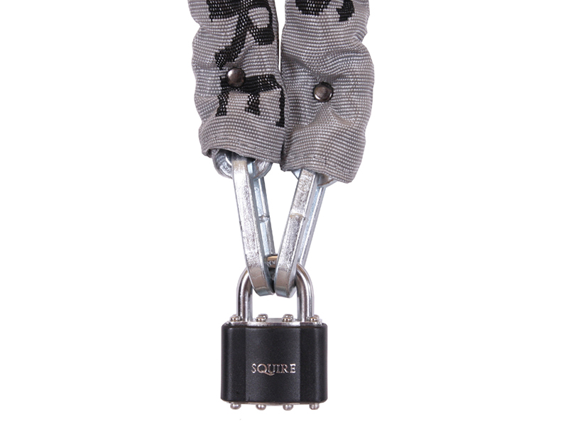 Thumbnail image of Squire Toughlok Lock & Chain Set 90cm x 5mm