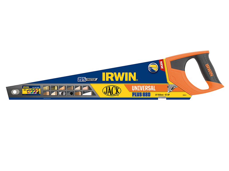 Thumbnail image of Irwin 880 UN Universal Panel Saw 550mm (22in) 8 TPI