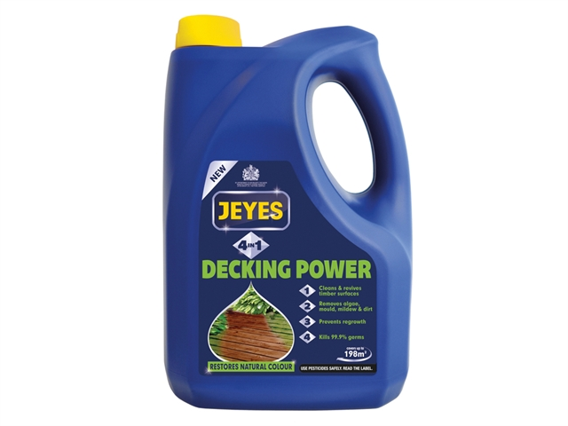Thumbnail image of Jeyes 4-In-1 Decking Power 4 litre