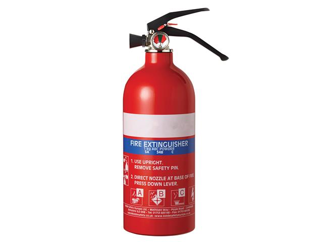 Thumbnail image of Kidde Multipurpose Fire Extinguisher 1.0kg ABC