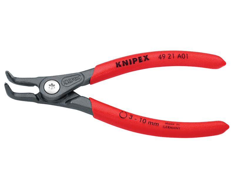 Thumbnail image of Knipex Precision Circlip Pliers External 90° Bent Tip 10-25mm A11