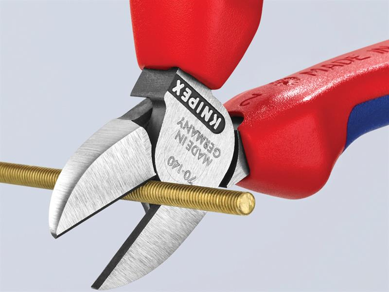 Thumbnail image of Knipex Diagonal Cutters Comfort Multi-Component Grip 140mm (5.1/2in)