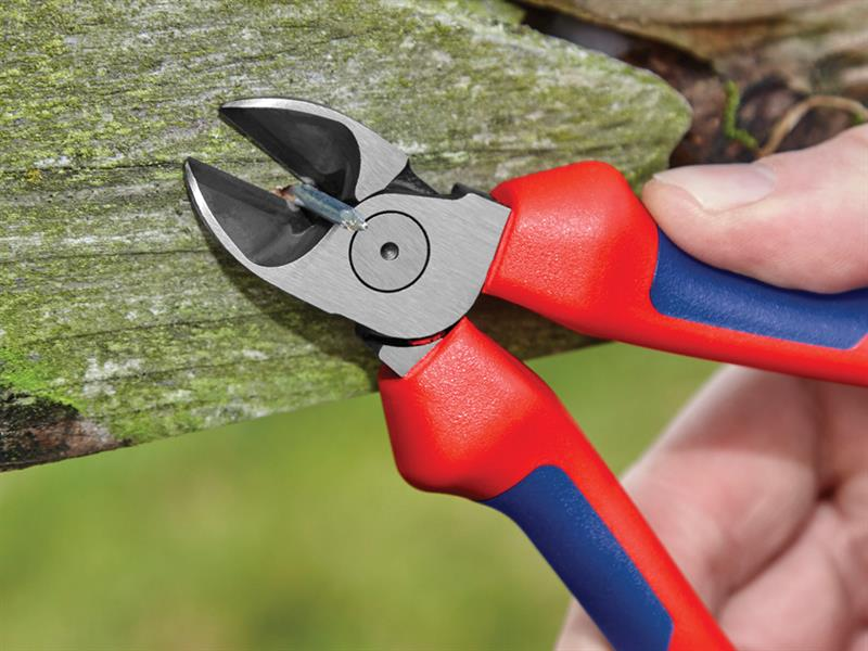 Thumbnail image of Knipex Diagonal Cutters Comfort Multi-Component Grip 160mm (6.1/4in)