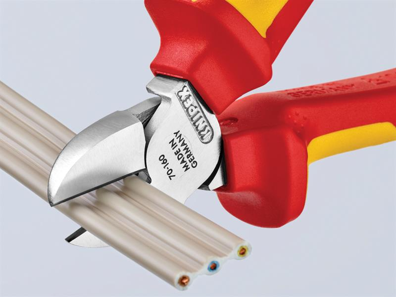 Thumbnail image of Knipex VDE Diagonal Cutter 140mm