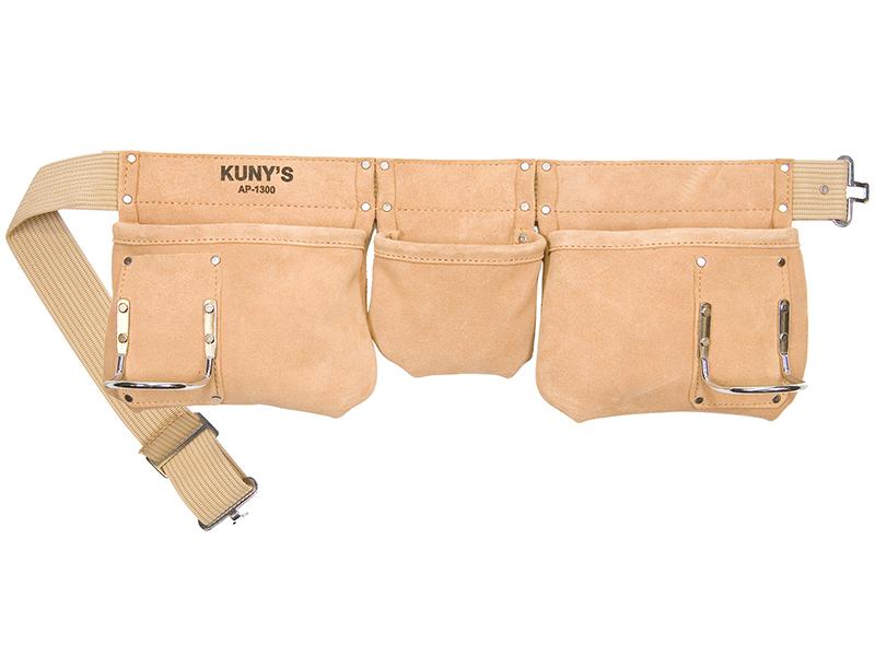 Thumbnail image of Kunys AP-1300 Carpenter's Apron 5 Pocket Suede Leather