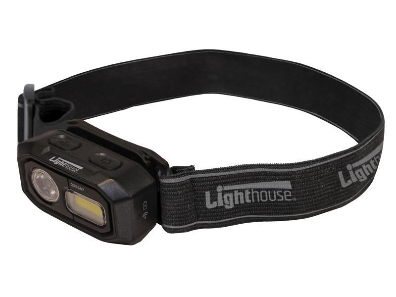 Thumbnail image of Lighthouse Elite Rechargeable LED Sensor Headlight 300 lumens