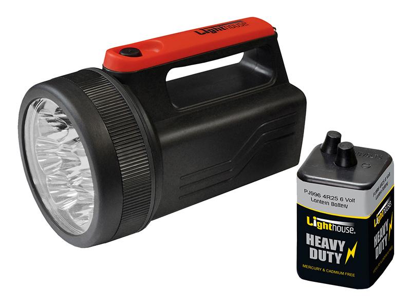 Thumbnail image of Lighthouse Krypton Spotlight with 6V Battery