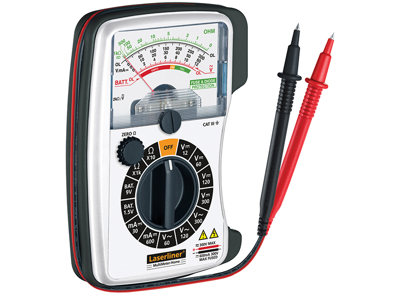 Thumbnail image of Laserliner Multimeter Analogue - AC/DC Voltage Tester