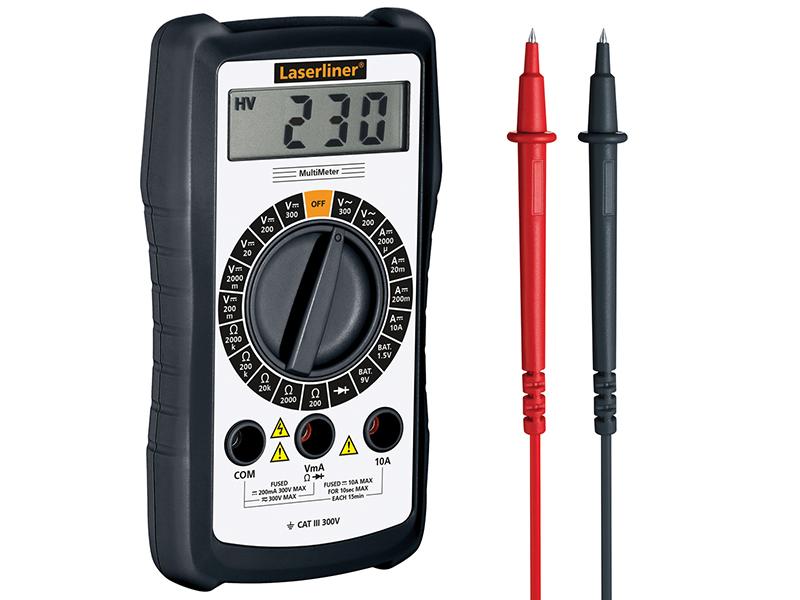 Thumbnail image of Laserliner Multimeter Digital - AC/DC Voltage Tester