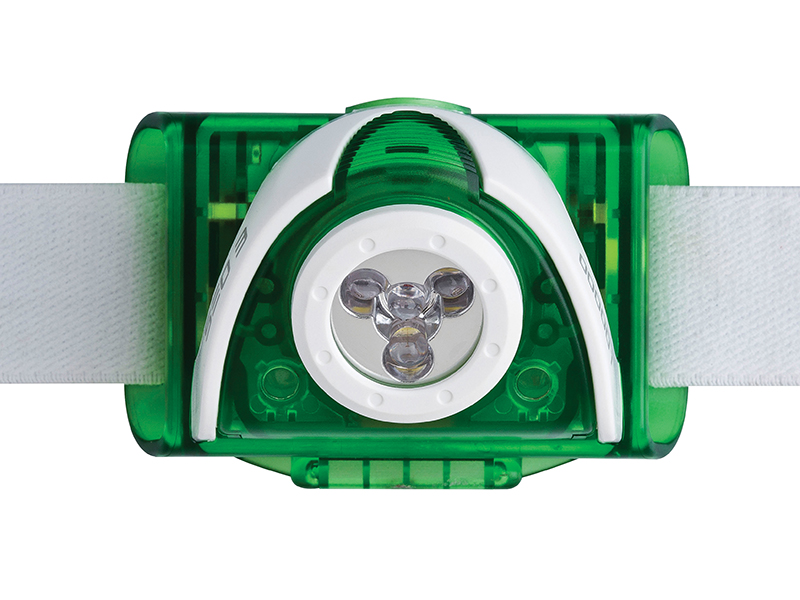 Thumbnail image of Ledlenser SEO3 LED Headlamp - Green (Test-It Pack)