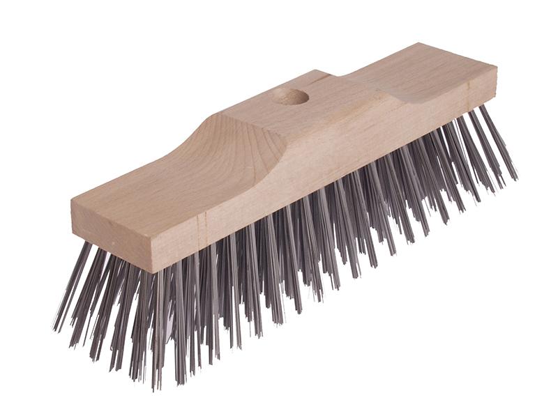 Thumbnail image of Lessmann Broom Head Raised Wooden Stock 6 Row 300mm x 70mm