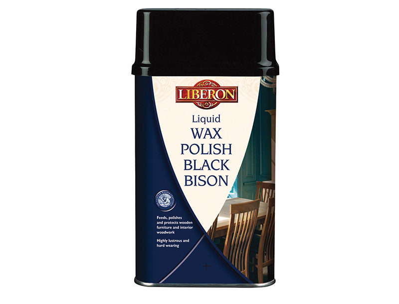 Thumbnail image of Liberon Liquid Wax Polish Black Bison Neutral 500ml