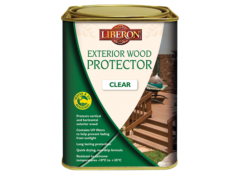 Thumbnail image of Liberon Exterior Wood Protector Clear 2.5 litre