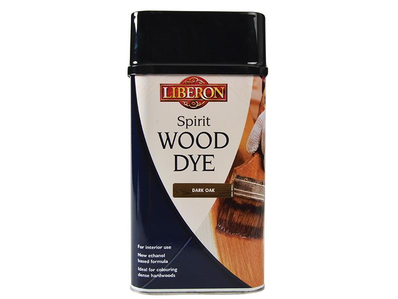 Thumbnail image of Liberon Spirit Wood Dye Dark Oak 1 litre