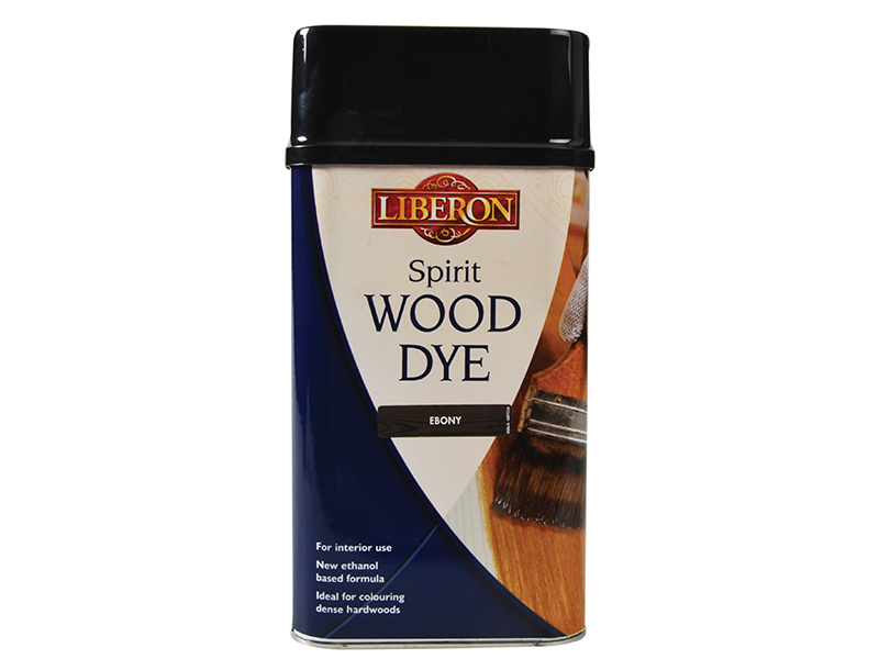 Thumbnail image of Liberon Spirit Wood Dye Ebony 1 litre
