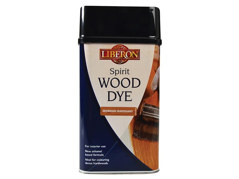 Thumbnail image of Liberon Spirit Wood Dye Georgian Mahogany 1 litre