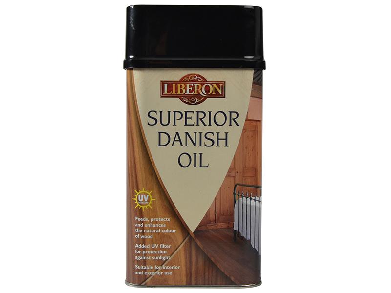 Thumbnail image of Liberon Superior Danish Oil 1 litre