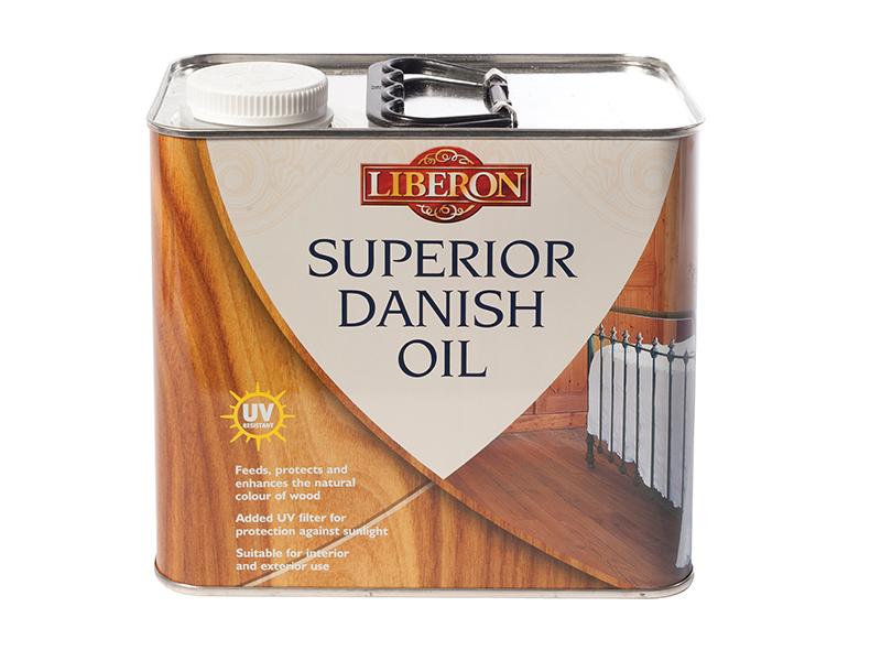 Thumbnail image of Liberon Superior Danish Oil 2.5 litre