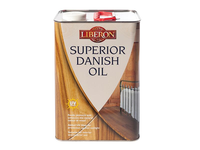 Thumbnail image of Liberon Superior Danish Oil 5 litre