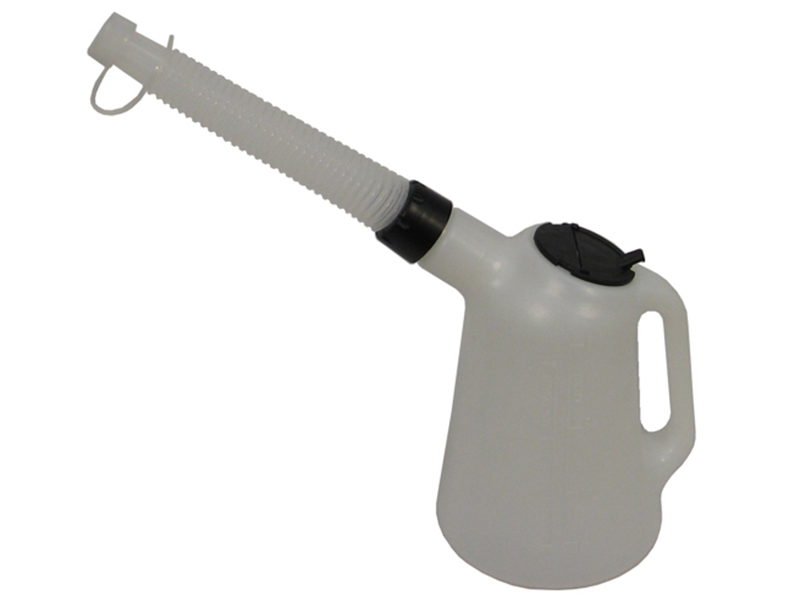 Thumbnail image of Lumatic Polyethylene Oil Measure Jug with Spout 2 litre