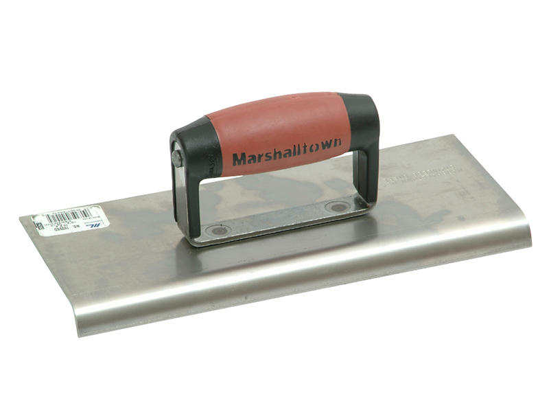 Thumbnail image of Marshalltown M192SS Stainless Steel Cement Edger DuraSoft® Handle 10 x 4in