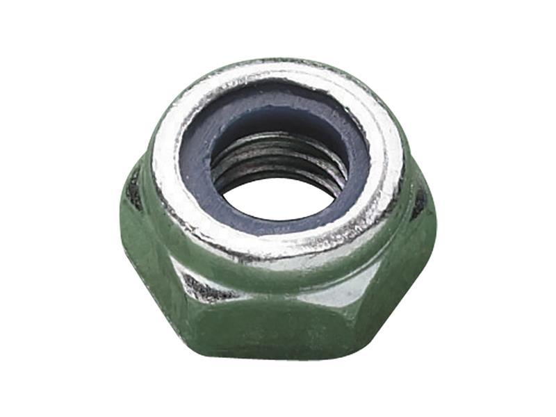 Thumbnail image of METALMATE Type T Nylon Insert Nut ZP M14 (Box 100)