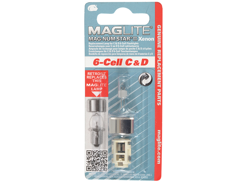 Thumbnail image of Maglite LMXA601 6 Cell MAG-NUM STAR Xenon Replacement Bulb