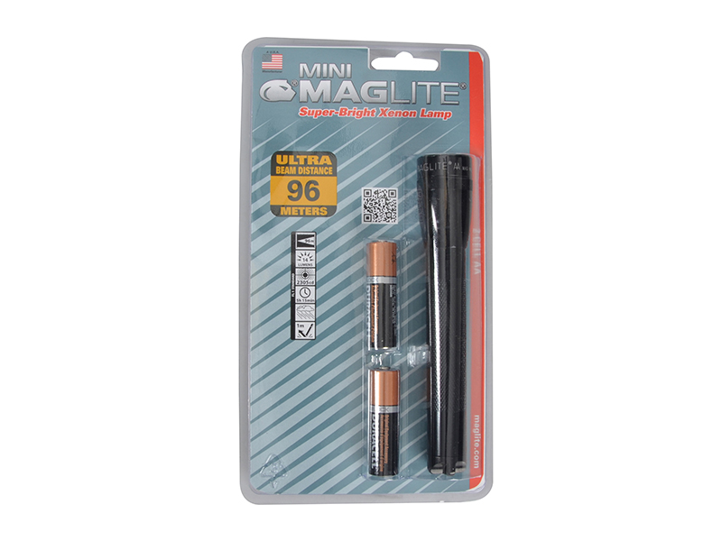 Thumbnail image of Maglite M2A016 Mini Mag AA Torch Black (Blister Pack)
