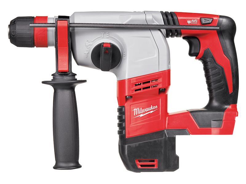 Thumbnail image of Milwaukee Power Tools M18 HD18 HX-0 SDS Plus 3-Mode Rotary Hammer 18V Bare Unit