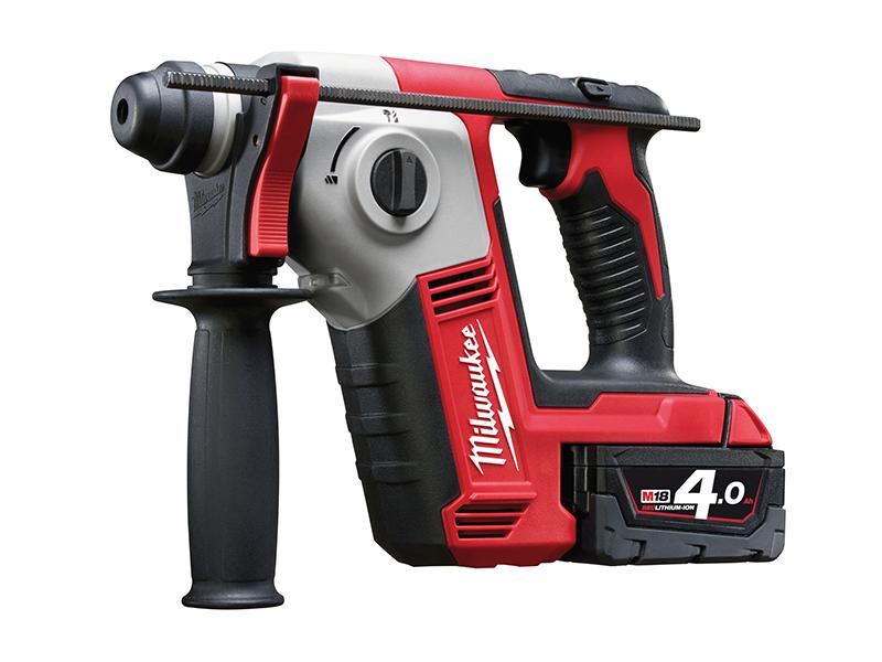 Thumbnail image of Milwaukee Power Tools M18 BH-402C 2 Mode SDS Hammer 18V 2 x 4.0Ah Li-ion