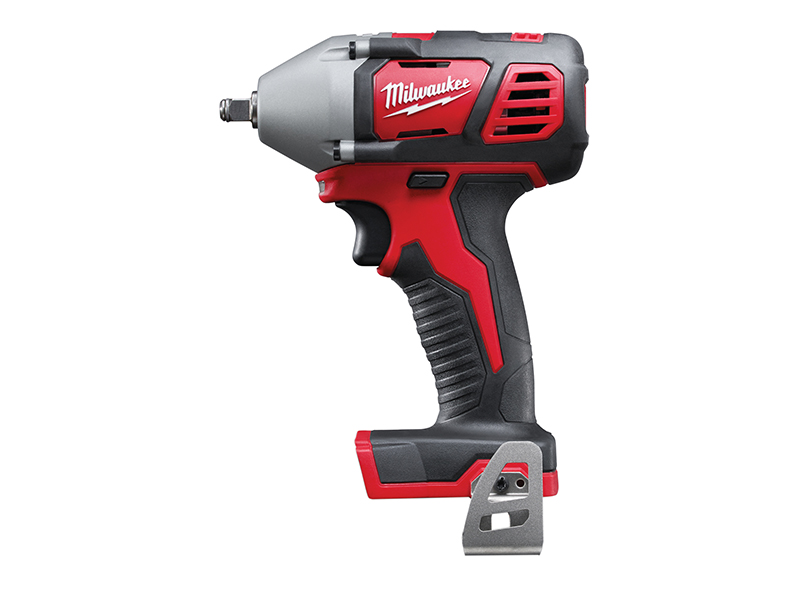 Thumbnail image of Milwaukee Power Tools M18 BIW38-0 Compact 3/8in Impact Wrench 18V Bare Unit