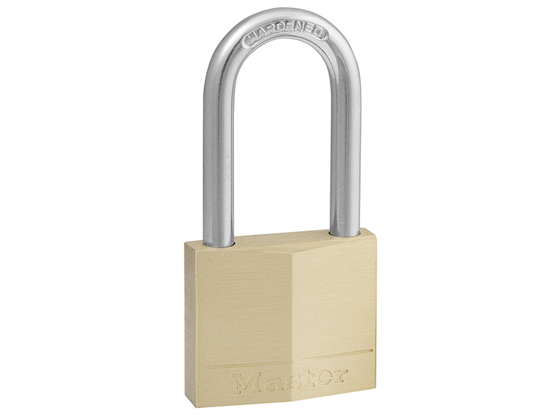 Thumbnail image of Master Lock Solid Brass 40mm Padlock 4-Pin - 38mm Shackle