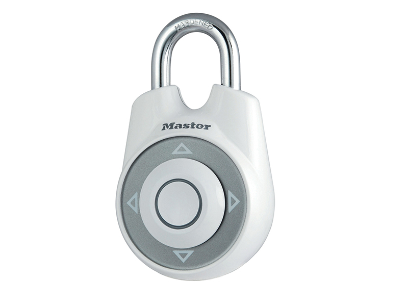 Thumbnail image of Master Lock One™ Directional Movement Combination 55mm Padlock - White