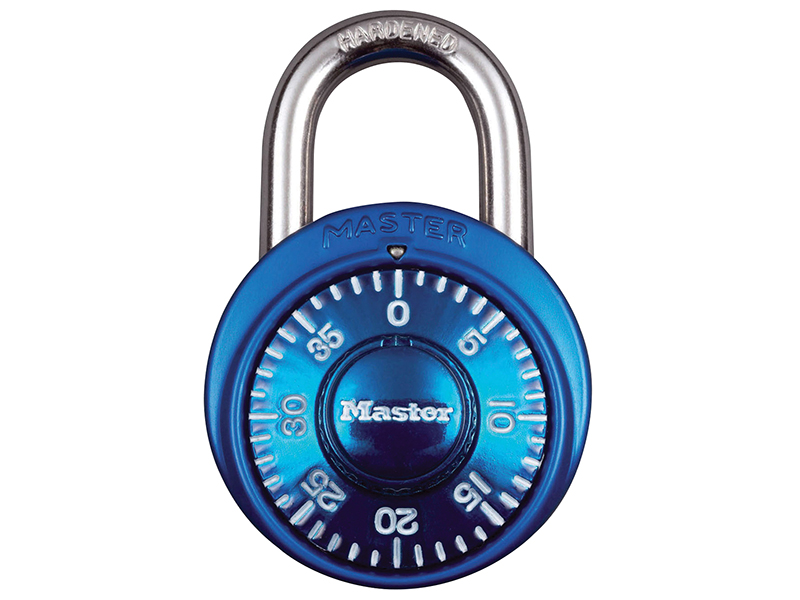 Thumbnail image of Master Lock Stainless Steel Fixed Dial Combination 38mm Padlock