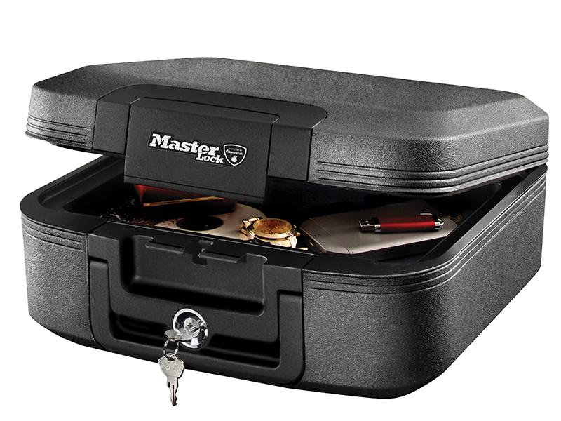 Thumbnail image of Master Lock Medium Key Locking Fire & Water Chest