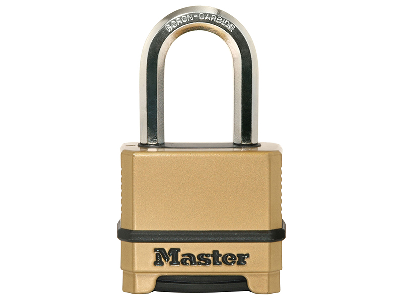 Thumbnail image of Master Lock Excell™ 4-Digit Combination 50mm Padlock - 38mm Shackle