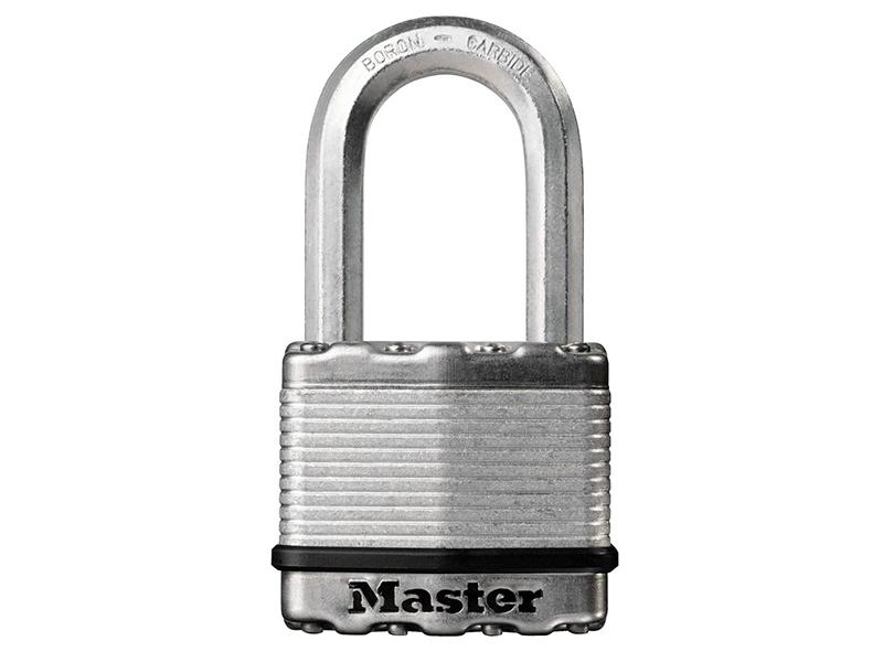 Thumbnail image of Master Lock Excell™ Laminated Steel 64mm Padlock 5-Pin - 38mm Shackle