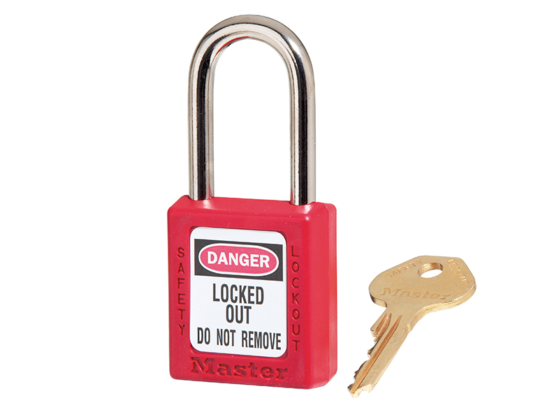 Thumbnail image of Master Lock Lockout Padlock – 38mm Body & 6mm Hardened Steel Shackle