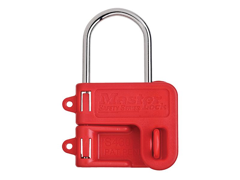 Thumbnail image of Master Lock Two Padlock Lockout Hasp - 4mm Shackle