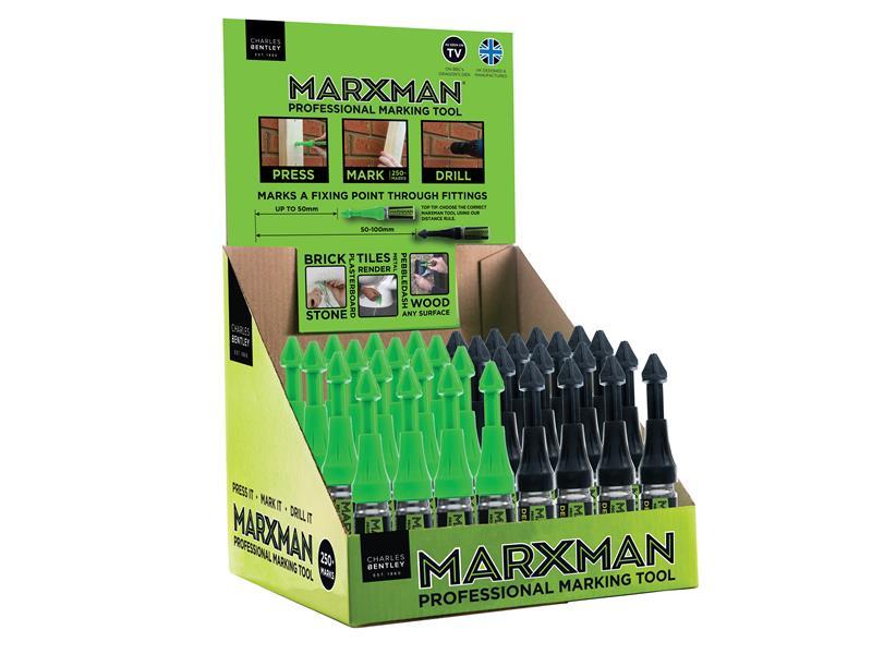 Thumbnail image of Marxman MarXman Standard & Deep Hole Professional Marking Tools (CDU of 30)