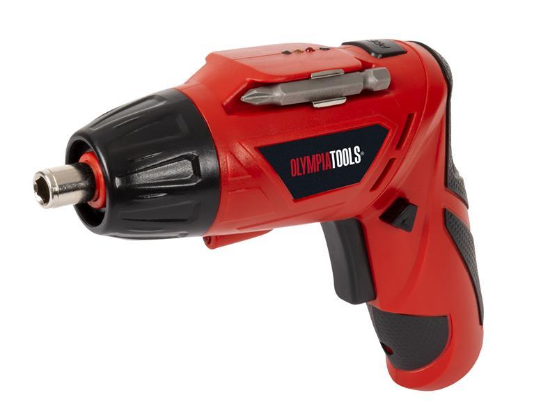 Thumbnail image of Olympia Power Tools Cordless Screwdriver 3.6V 1 x 1.3Ah Li-ion