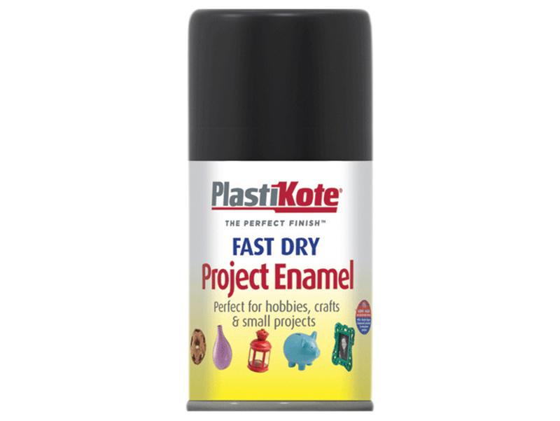 Thumbnail image of PlastiKote Fast Dry Enamel Aerosol Gloss Black 100ml