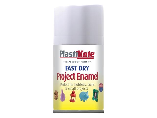 Thumbnail image of PlastiKote Fast Dry Enamel Aerosol Gloss White 100ml