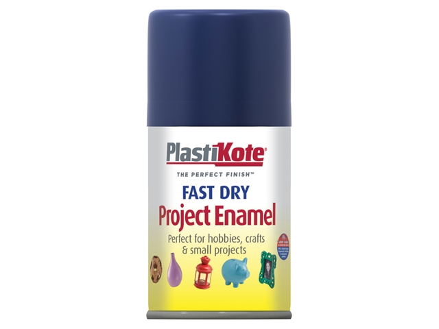 Thumbnail image of PlastiKote Fast Dry Enamel Aerosol Night Blue 100ml