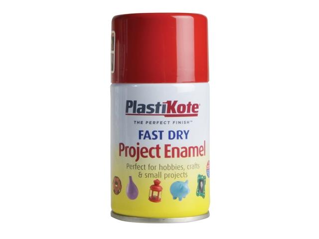 Thumbnail image of PlastiKote Fast Dry Enamel Aerosol Insignia Red 100ml