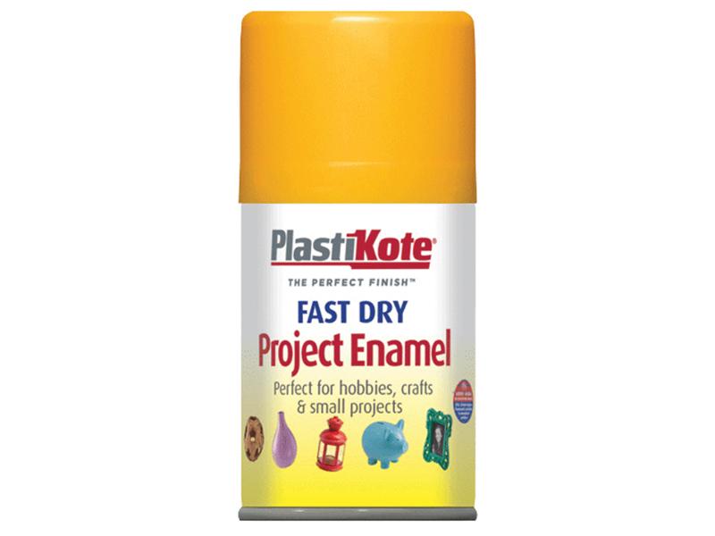 Thumbnail image of PlastiKote Fast Dry Enamel Aerosol Sunshine Yellow 100ml