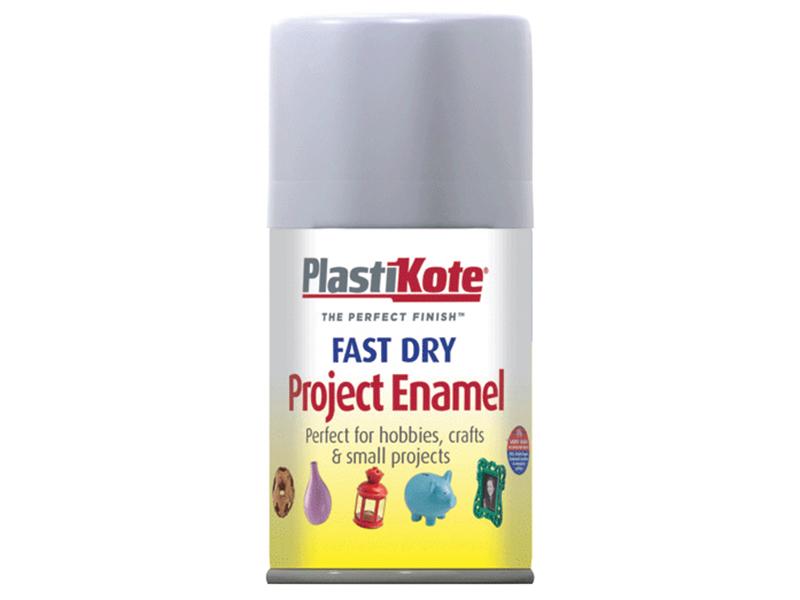 Thumbnail image of PlastiKote Fast Dry Enamel Aerosol Aluminium 100ml