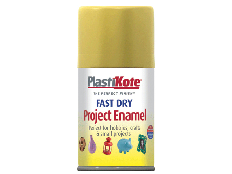 Thumbnail image of PlastiKote Fast Dry Enamel Aerosol Gold Leaf 100ml