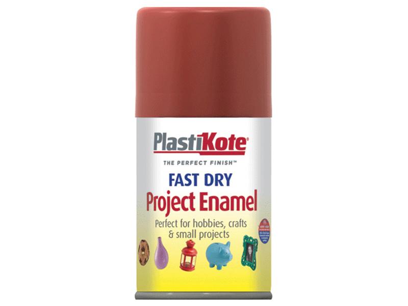 Thumbnail image of PlastiKote Fast Dry Enamel Aerosol Nut Brown 100ml