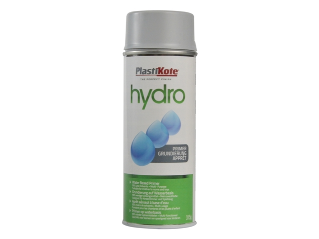 Thumbnail image of PlastiKote Hydro Primer Spray Grey 350ml